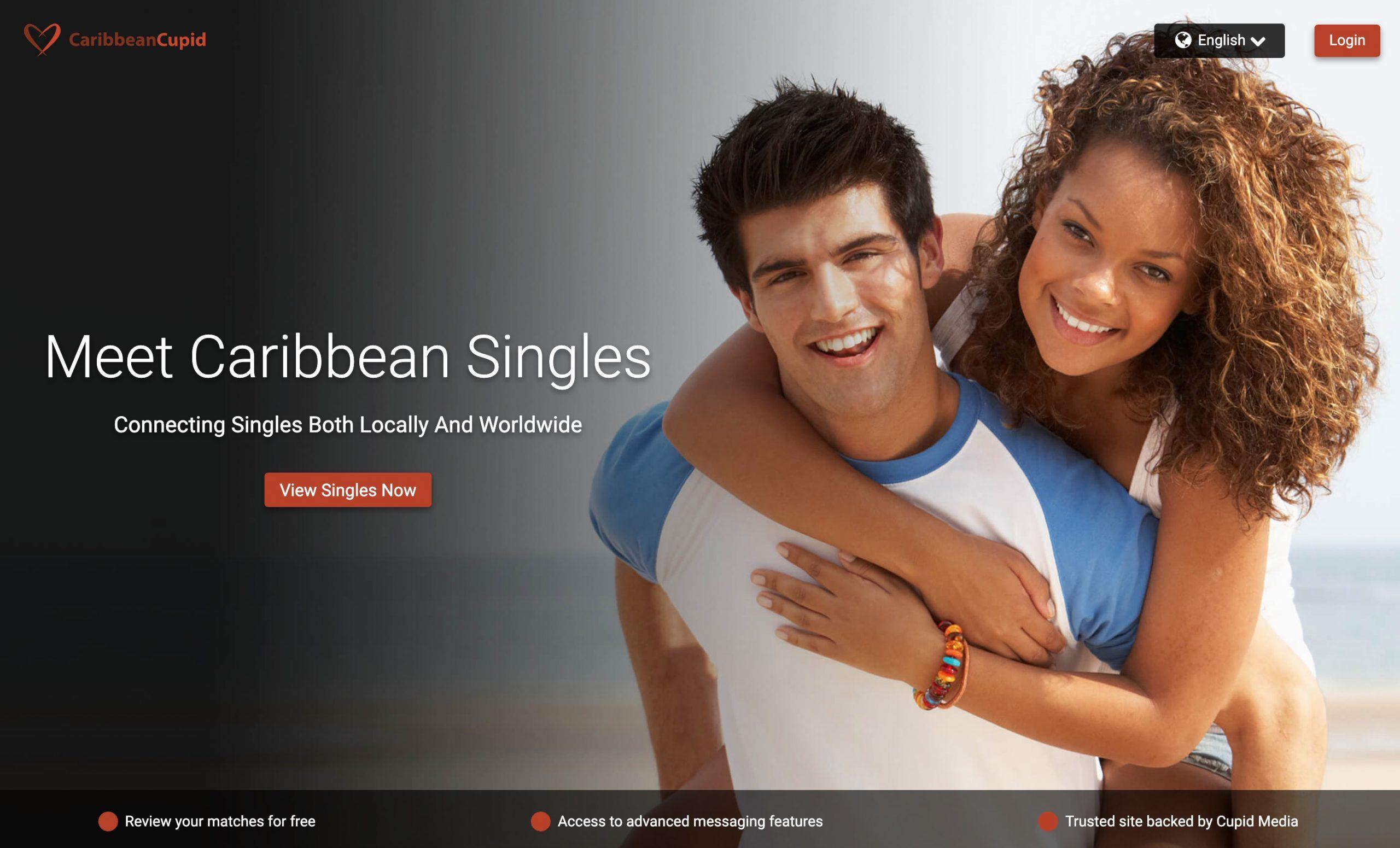 CarribeanCupid main page