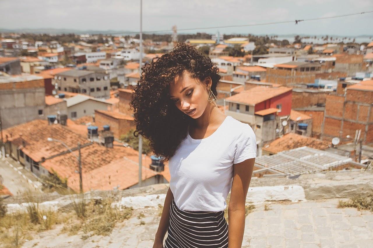 young beautiful Colombian girl